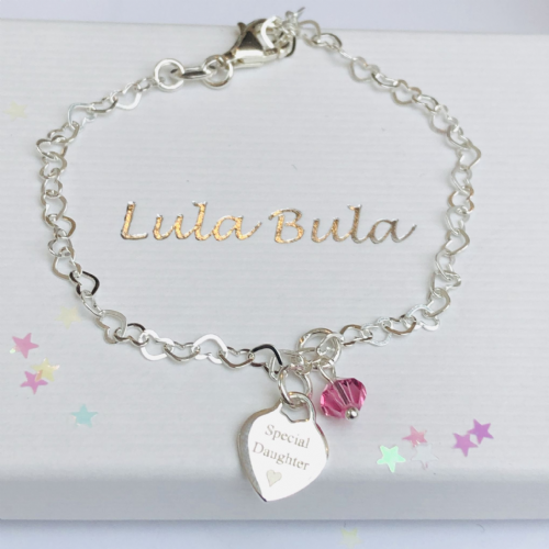 Jewellery gift bracelet for a special girl - FREE ENGRAVING